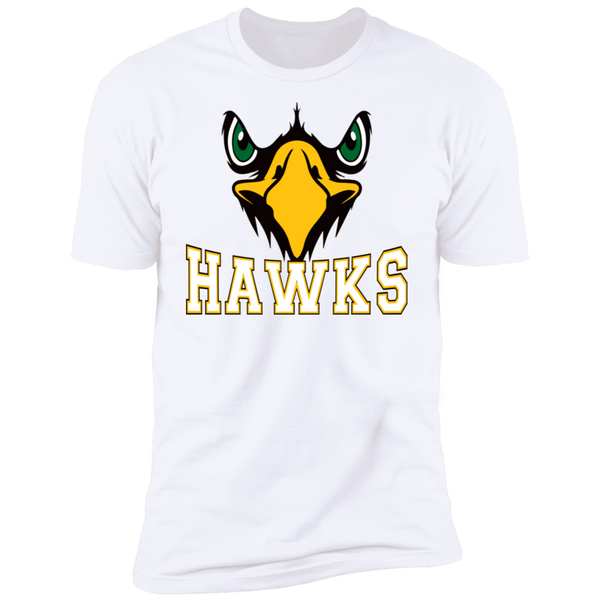 Hawk Originals (Front Facing Hawk) Premium Short Sleeve T-Shirt