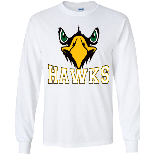 Hawk Originals (Front Facing Hawk) Youth LS T-Shirt