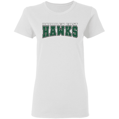 HAWK ORIGINALS (BROMLEY EAST HAWKS) Ladies' 5.3 oz. T-Shirt