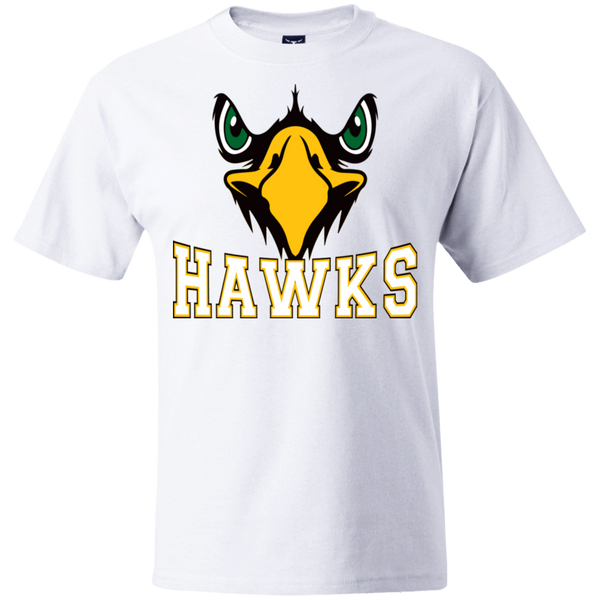 Hawk Originals (Front Facing Hawk) Beefy T-Shirt