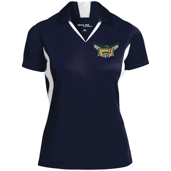 Hawk Originals (Main Logo) Sport-Tek Ladies' Colorblock Performance Polo