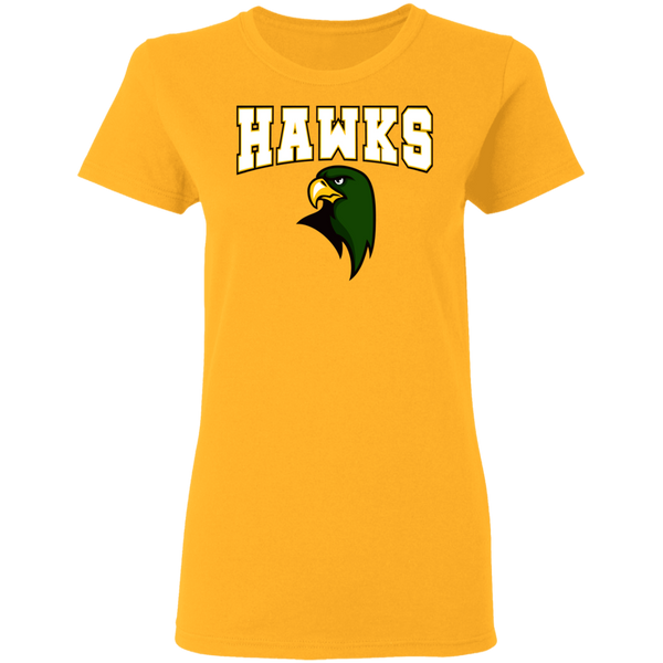 Hawk Originals (HAWKS w/Hawk)  Ladies' 5.3 oz. T-Shirt