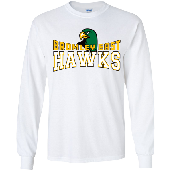 Hawk Originals (BROMLEY EAST HAWKS w/Hawk) Youth LS T-Shirt
