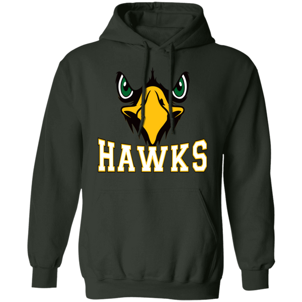 Hawk Originals (Front Facing Hawk) Pullover Hoodie