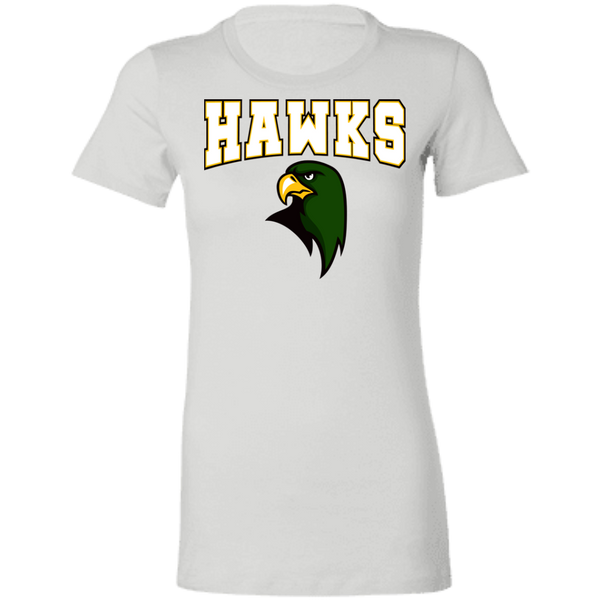 Hawk Originals (HAWKS w/Hawk)  Ladies' Favorite T-Shirt