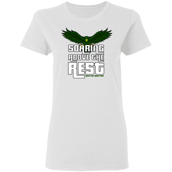 Hawk Originals (Soaring Above) Ladies' 5.3 oz. T-Shirt
