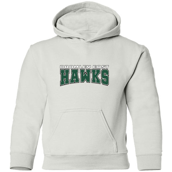 Hawk Originals (Bromley East Hawks - green) Youth Pullover Hoodie