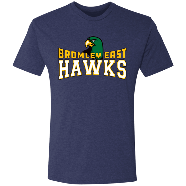 Hawk Originals (BROMLEY EAST HAWKS w/Hawk) Men's Triblend T-Shirt