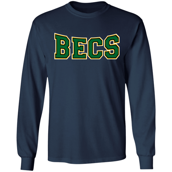 Hawk Originals (green BECS) LS Ultra Cotton T-Shirt