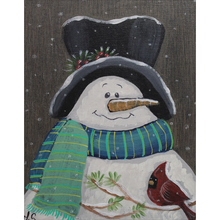 Load image into Gallery viewer, Country Snowman Fleece  Blankets