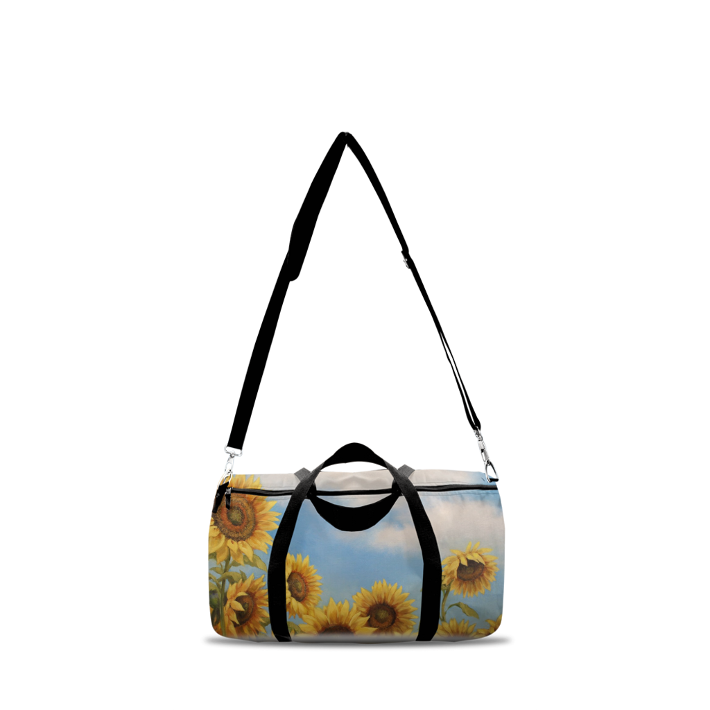 Sunflower Duffle Bags
