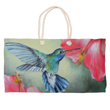 Load image into Gallery viewer, Hummingbird Weekender Totes