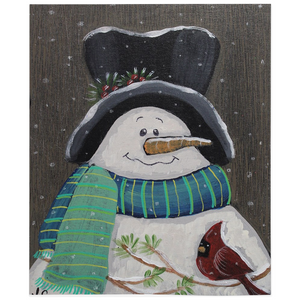 Country Snowman Fleece  Blankets