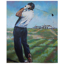 Load image into Gallery viewer, Golf At Shinnecock Fleece Blankets