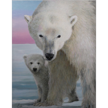 Load image into Gallery viewer, The Guardian Polar Bear Fleece Blankets