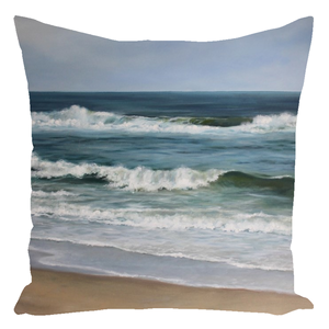 Atlantic Beaches Throw Pillows