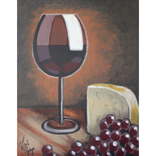 Load image into Gallery viewer, Wine And Cheese Fleece Blankets