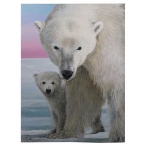 The Guardian Polar Bear Fleece Blankets