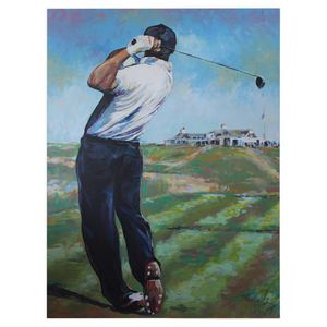 Golf At Shinnecock Fleece Blankets