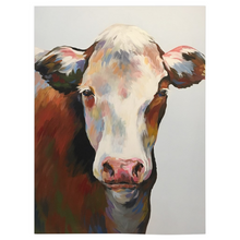 Load image into Gallery viewer, Bessie The Cow Fleece Blankets