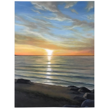 Load image into Gallery viewer, Wading River Beach Fleece Blankets