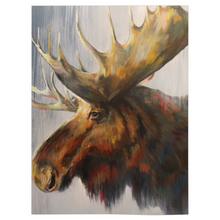 Load image into Gallery viewer, Samuel The Moose Fleece Blankets