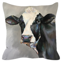 Load image into Gallery viewer, Frances the Cow Outdoor Pillows