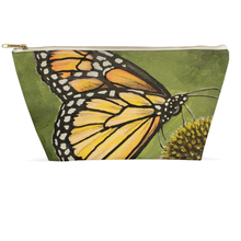 Load image into Gallery viewer, Monarch Butterfly Accessory Pouches