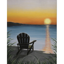 Load image into Gallery viewer, Peaceful Sunset Fleece Blankets