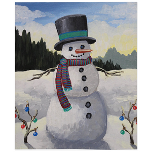 Holiday Snowman Fleece Blankets