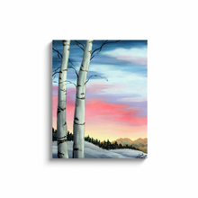 Load image into Gallery viewer, Winter Sky Canvas Wrap