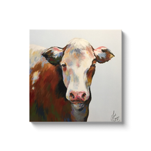 Load image into Gallery viewer, Bessie the Cow Canvas Wraps
