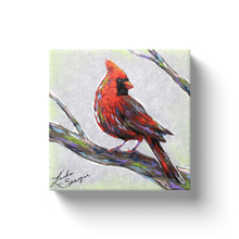 Load image into Gallery viewer, Modern Cardinal Canvas Wraps