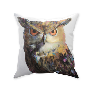 Aria Owl Throw Pillows