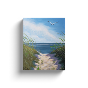 Tranquil Path Canvas Wraps