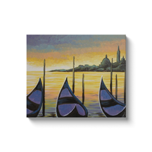 Load image into Gallery viewer, Sunset In Venice Canvas Wraps