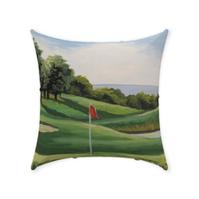Load image into Gallery viewer, Golf On The Sound Throw Pillows