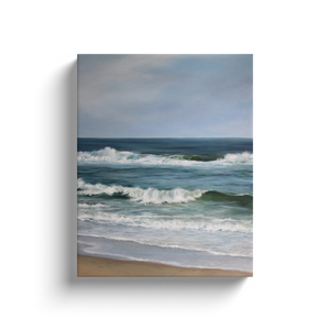 Atlantic Beaches 1 Image Wrap Canvas