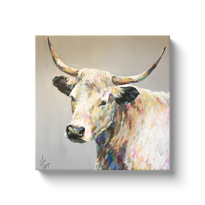 Raymond the Steer Canvas Wraps