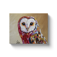 Load image into Gallery viewer, Modern Barn Owl Canvas Wraps