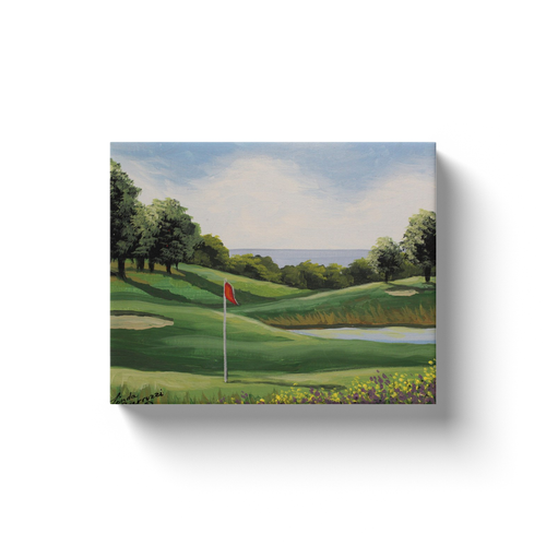 Golf On The Sound Canvas Wraps