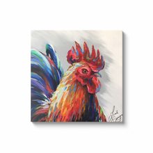 Load image into Gallery viewer, Reynaldo the Rooster Canvas Wraps