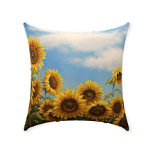 Load image into Gallery viewer, Sunflower Dance Throw Pillows