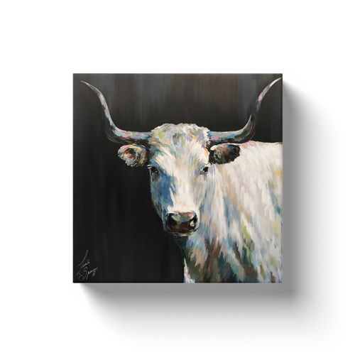 Aremis the Steer Canvas Wraps