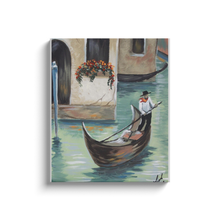 Load image into Gallery viewer, Venice Gondola Canvas Wraps