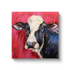 Colorful Cow Canvas Wraps