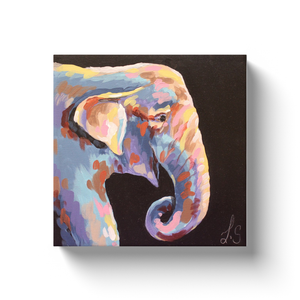 Modern Elephant Canvas Wraps