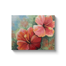 Load image into Gallery viewer, Hibiscus Canvas Wraps