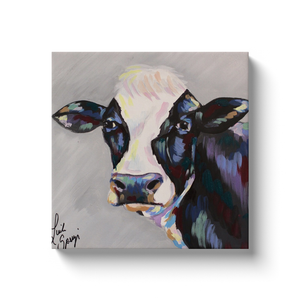 Modern Cow Canvas Wraps