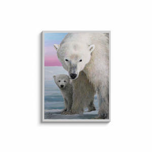 The Guardian Polar Bear Canvas Wraps
